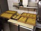 Pasta aus hauseigener Produktion