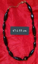 Collier 47 à 53 cm de longueur