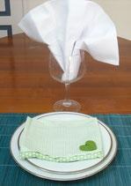 Serviette et Porte serviette SPS011