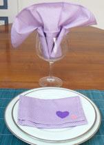 Serviette et Porte serviette SPS017