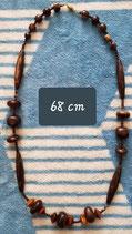 Collier 68 cm de longueur