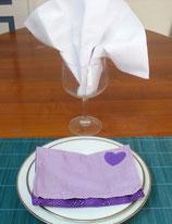 Serviette et Porte serviette SPS014