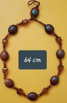 Collier 64 cm de longueur