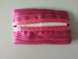 Étui à mouchoirs jetables en soie