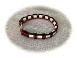 EM-Keramik Zeckenhalsband Imperial Red/Black 30 (Rabatt-Shop)