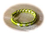 EM-KERAMIK ZECKENHALSBAND (Neon Yellow/Neon Yellow Diamonds 35)