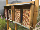 Patenschaft über ein Wildbienenhotel