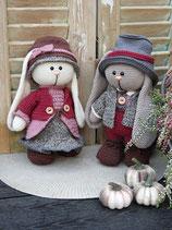 Haakpakket Funny Bunny set Lena & Lucas