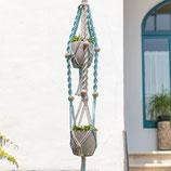 DIY Macramé dubbele plantenhanger Mallorca Kit