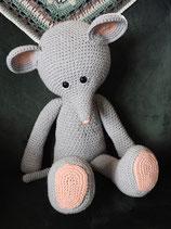 XXL Funny Mouse Basic grijs