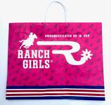 RANCHGIRLS Shopping Bag Big pink