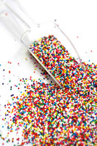 FANCY SPRINKLES NON PARREILS RAINBOW VEGAN