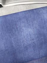 French Terry tintenblau im Industrie Look, Grundpreis: 19,90€/m