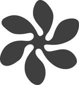 "Motivstanzer "" Blume/ Windrad"" 2.5cm"