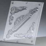 "Reliefform ""Ornamente 3-teilig 82"""