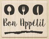 """Holzstempel """"Bon Appetit"""""""