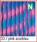 Paracord Farbmix 4mm, pink azurblau 33