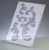 "Reliefform ""Ornamente 4-teilig 70"""