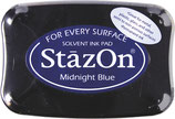 StazOn-Stempelkissen midnight blue