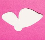 Schmetterling sitzend Stanzer XL