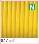 Paracord reflektierend 4mm, gelb 7