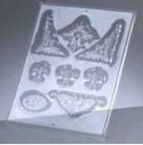 "Reliefform ""Ornamente 8-teilig 52"""