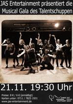 Musical-Gala des Talentschuppens (21.11.2015) 8 €
