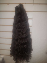 Human Afro Kinky lockiges Haar tressen 50 cm 100g pro stück