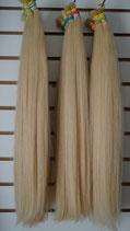 Hellblond Brasilianisches Brasilian Menschliches Haar 60cm