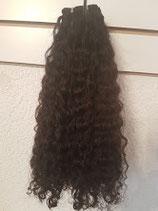 Human Afro Kinky lockiges Haar tressen 40 cm c.a  100g pro stück