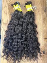 Brasilianisches Haar 40/45cm Lockiges Haar