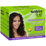 Creme Relaxante Cachos Definidos E Soltos Salon Line, Salon-Linie Curls Creme