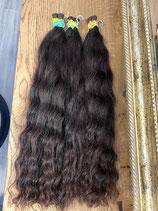 Brasilianisches Haar Lockiges Haar 55cm