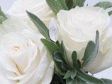 "Weddingpiece ""Salbeiblatt"""