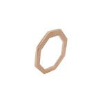 Ring,  18 karat Rotgold