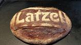 Latzel-Kruste. 60% Dinkel, 40% Roggen, 750 g