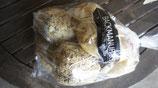 eine Tüte mit halb fertig gebackenen Weltmeisterbrötchen (3 Stück) und Goldstückbrötchen (3 Stück) zum selbst aufbacken oder toasten
