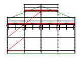 PACK 7: Layher Allround - L: 10,28m - H: 7,2m - 109cm - 64m² - NOUVEAU