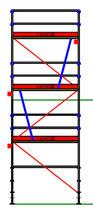 PACK Blitz - L: 2,57m (3*2,57m) ; H: 6,00m