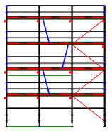 PACK Blitz - L: 7,71m (3*2,57m) ; H: 8,00m (4*2,00m)