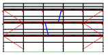 PACK 4: Layher Blitz - L: 15,35m - H: 7,2m - 73cm - 110m² - NOUVEAU