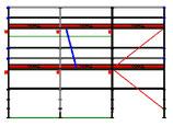 PACK Blitz - L: 7,71m (3*2,57m) ; H: 4,00m (2*2,00m)