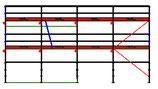 PACK Blitz - L: 10,28m (4*2,57m) ; H: 4,00m (2*2,00m)