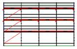 PACK 9B: Layher Allround - Longueur: 12,28m - Hauteur: 7,2m - Largeur: 73cm - 90m² - OCCASION