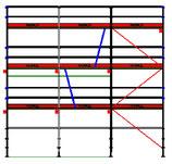 PACK Blitz - L: 7,71m (3*2,57m) ; H: 6,00m (3*2,00m)