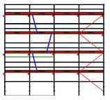 PACK Blitz - L: 10,28m (4*2,57m) ; H: 8,00m (4*2,00m)