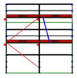 PACK Blitz - L: 5,14m (2*2,57m) ; H: 4,00m (2*2,00m)