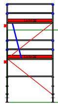 PACK Blitz - L: 2,57m ; H: 4,00m (2*2,00m)