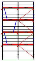 PACK Blitz - L: 5,14m (2*2,57m) ; H: 8,00m (4*2,00m)