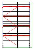 PACK 1: Layher Blitz - L: 6m14 - H: 9m2 - 73cm - 55m² - NOUVEAU